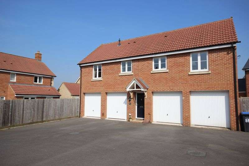 2 Bedrooms Flat for sale in CASTLE WELL DRIVE, OLD SARUM, SP4