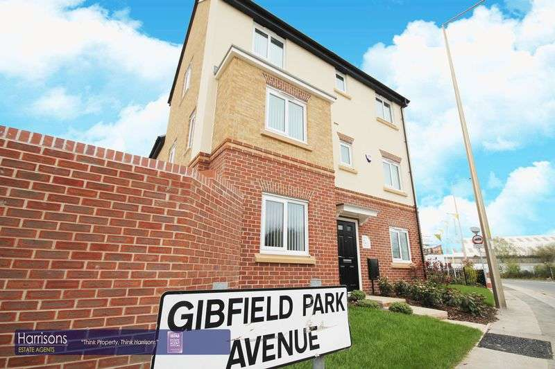 4 Bedrooms Detached House for sale in Gibfield Park Avenue, Manchester