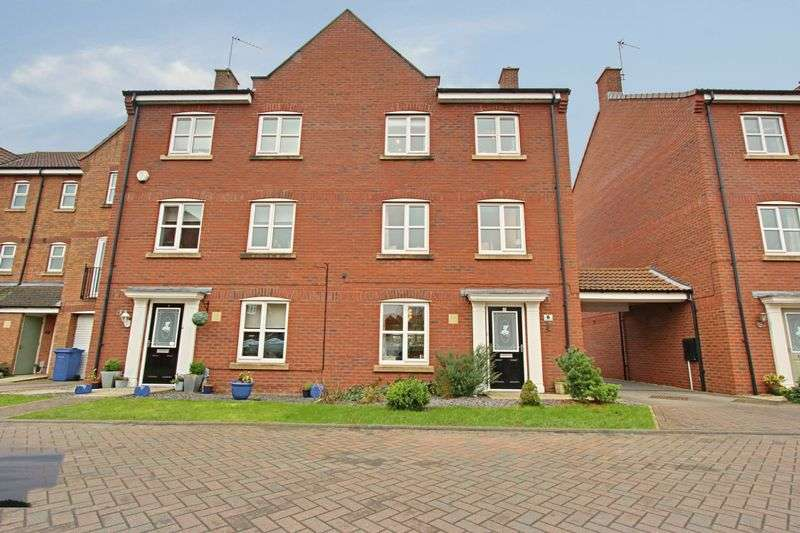 4 Bedrooms Semi Detached House for sale in Lancaster Way, Brough