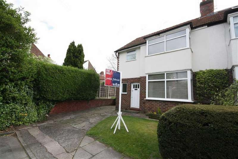 3 Bedrooms Semi Detached House for sale in Moorfield Grove, Sale