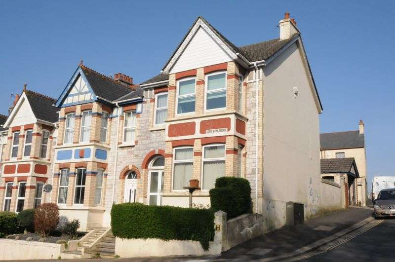 3 Bedrooms House for sale in Torr View Avenue, Peverell, Plymouth. In need of general refurbishment. House arranged as two 1 bed flats.