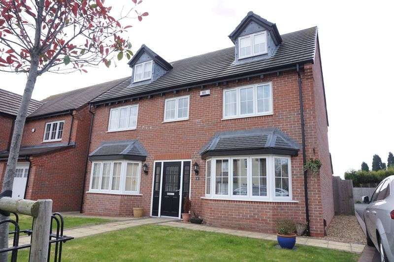 5 Bedrooms Detached House for sale in Limestone Close, Aldridge, Walsall.