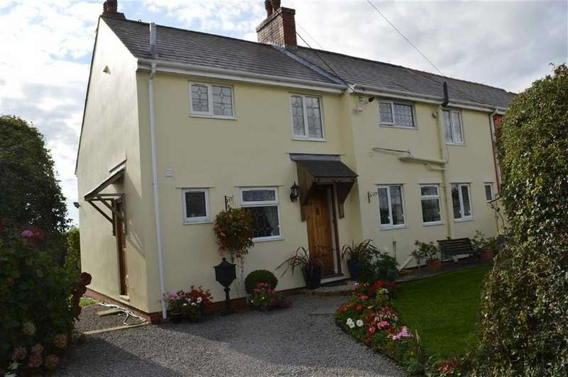 4 Bedrooms Semi Detached House for sale in New Barn Holdings, Flemingston, Vale Of Glamorgan