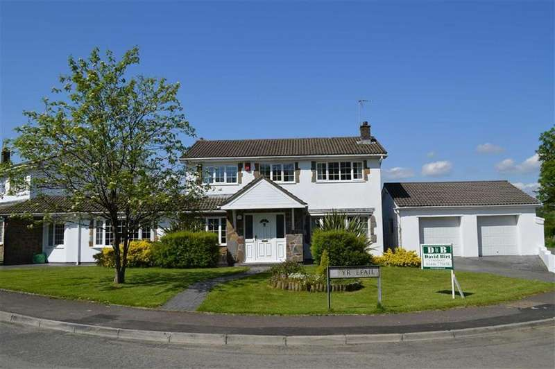 4 Bedrooms Detached House for sale in Yr Efail, Bridgend, Vale Of Glamorgan