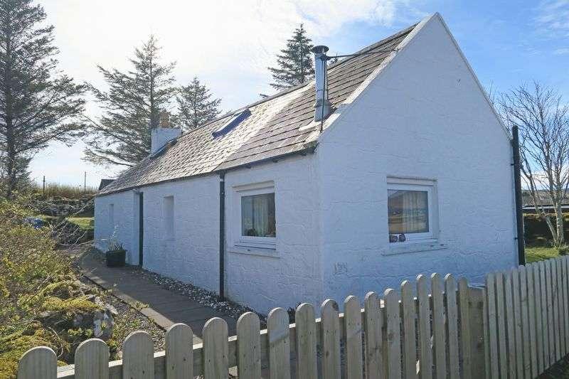 3 Bedrooms Cottage House for sale in Sonas, 14 Waterloo, Breakish, Isle of Skye