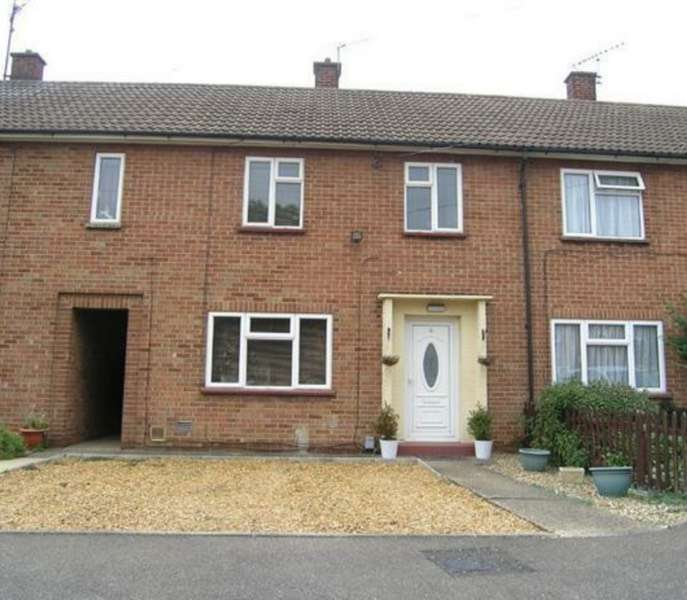 3 Bedrooms Terraced House for sale in Furze Ride, Peterborough, Cambridgeshire, PE1