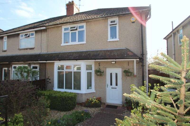 3 Bedrooms Semi Detached House for sale in Hollyguest Road Hanham Bristol