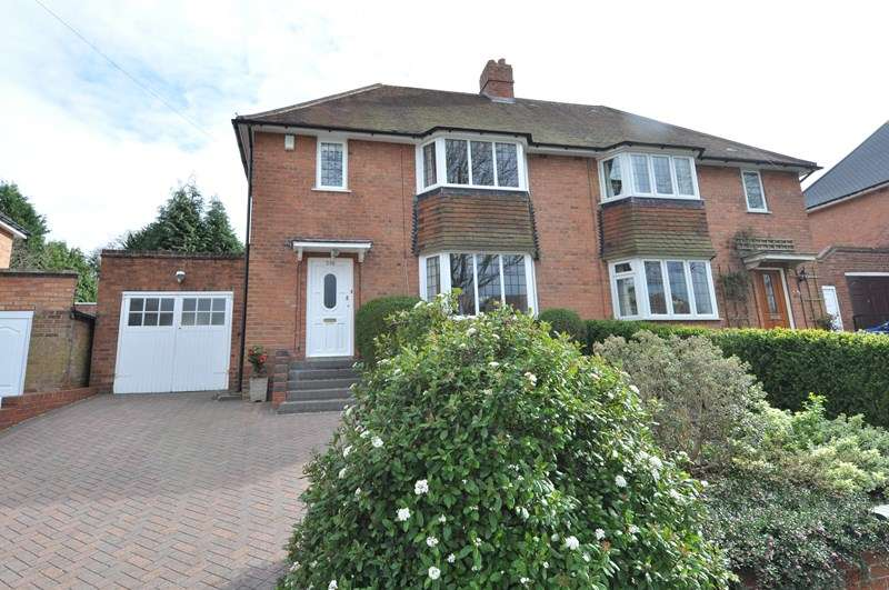 3 Bedrooms Semi Detached House for sale in Heath Road South, Bournville Village Trust, Northfield