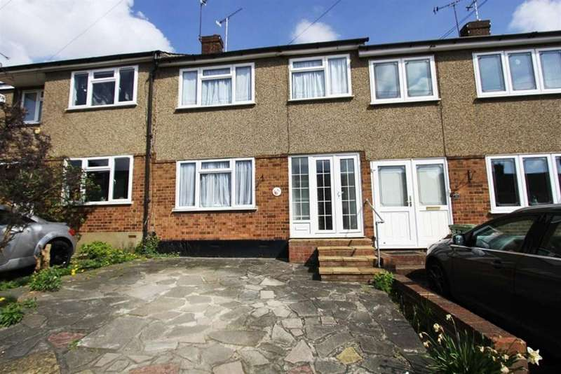 3 Bedrooms Terraced House for sale in Passingham Avenue, Billericay, Essex, CM11 2TD
