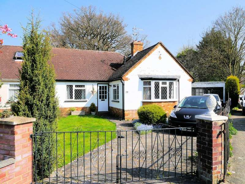 2 Bedrooms Semi Detached Bungalow for sale in Upcroft, Windsor SL4