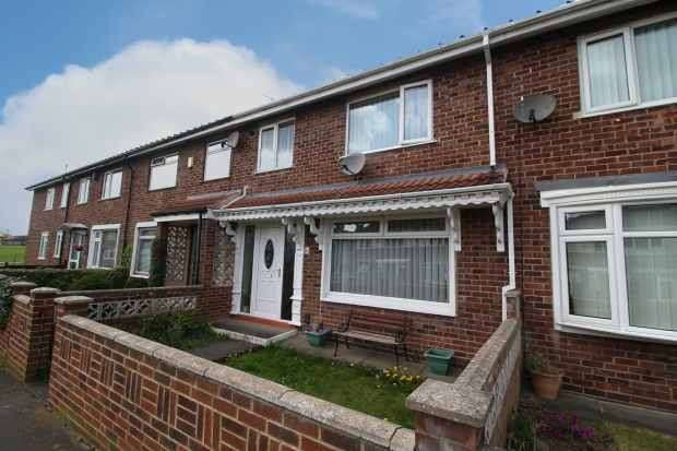 3 Bedrooms Terraced House for sale in Killerby Close, Stockton-On-Tees, Cleveland, TS19 8BT