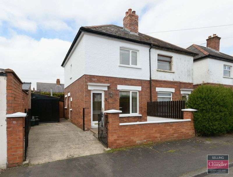 2 Bedrooms Semi Detached House for sale in 11 Dunraven Drive, Belfast, BT5 5LD