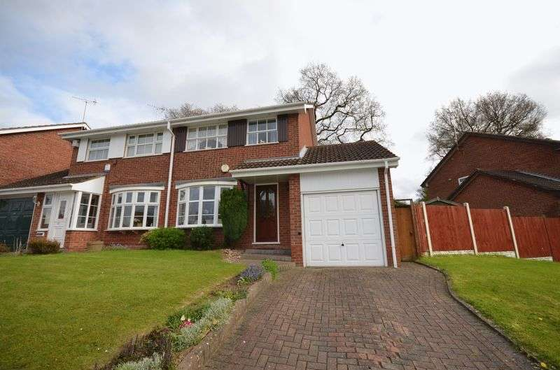 3 Bedrooms Semi Detached House for sale in Rea Valley Drive, Northfield
