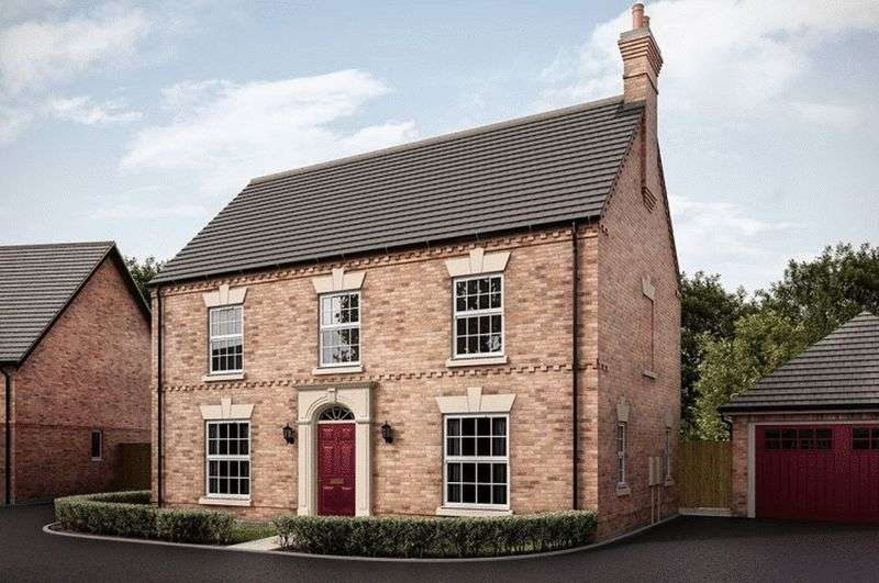 4 Bedrooms Detached House for sale in The Bradgate, Hilltop View, Burton On Trent
