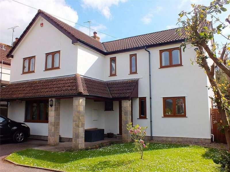 4 Bedrooms Detached House for sale in Sparrow Hill Way, Weare, Axbridge, Somerset, BS26