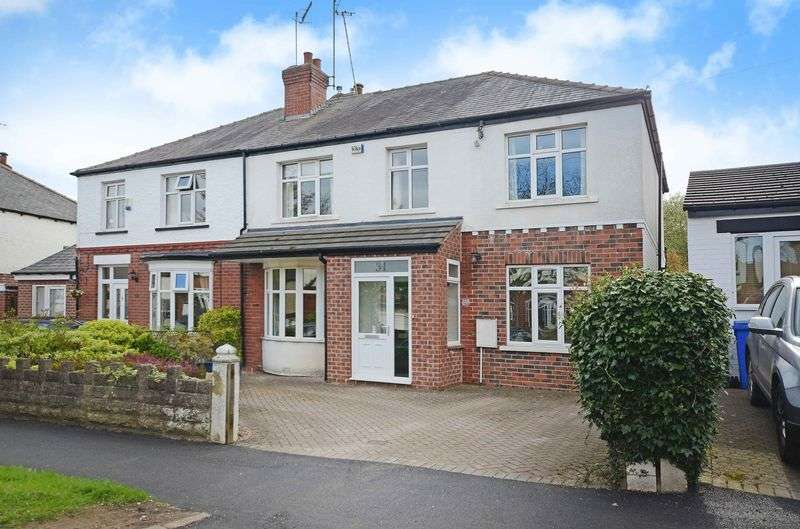 4 Bedrooms Semi Detached House for sale in Dobcroft Road, Millhouses, Sheffield