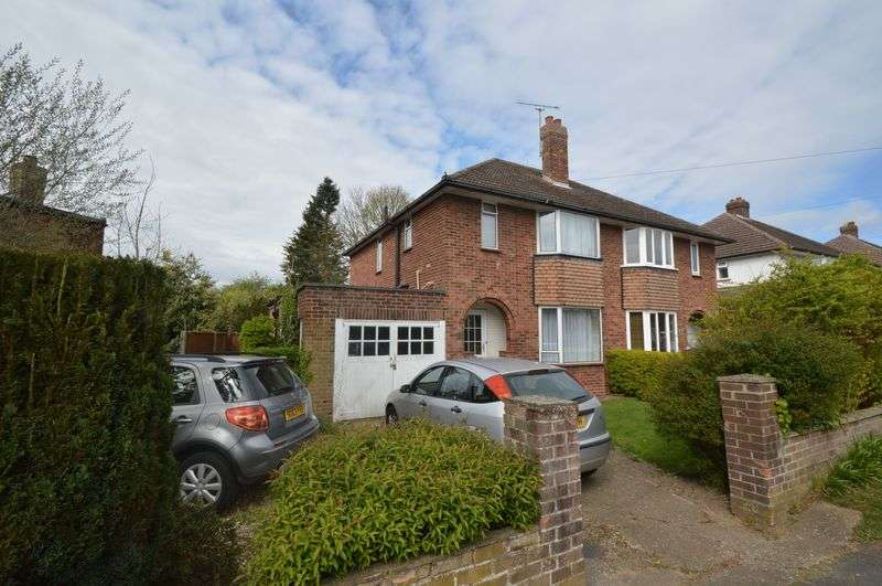 3 Bedrooms Semi Detached House for sale in Breckland Road, New Costessey, Norwich