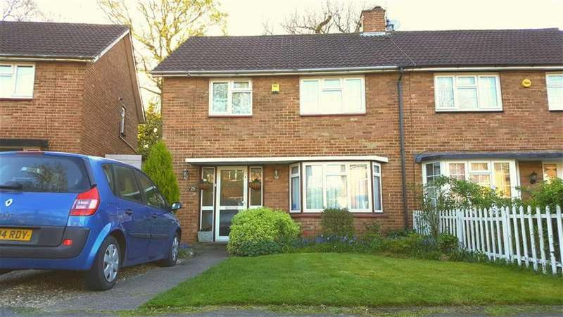 3 Bedrooms Semi Detached House for sale in Hunters Ride, St Albans
