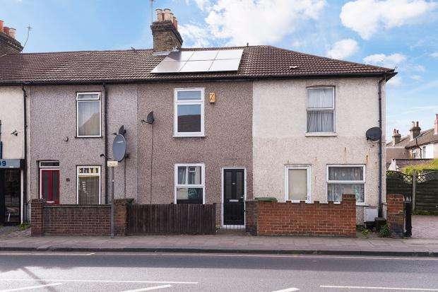 2 Bedrooms Terraced House for sale in Upper Wickham Lane, Welling, DA16