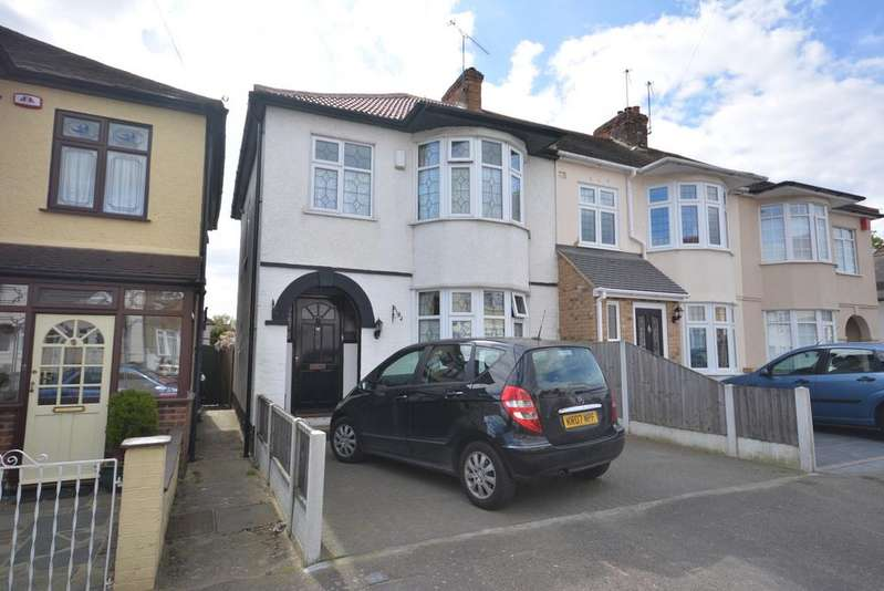 3 Bedrooms End Of Terrace House for sale in Great Gardens Road, Hornchurch RM11