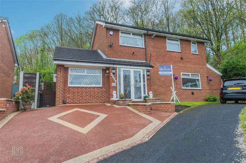 3 Bedrooms Detached House for sale in Riverside Drive, Radcliffe, Manchester, Lancashire