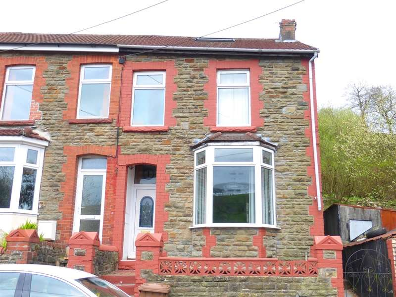 3 Bedrooms End Of Terrace House for sale in Clive Street, Senghenydd, Caerphilly