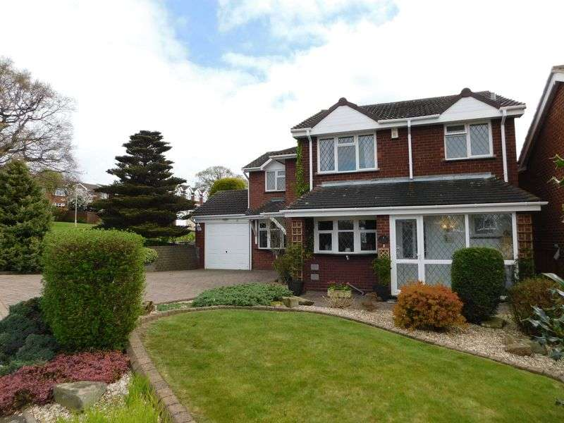 4 Bedrooms Detached House for sale in Gowland Drive, Cannock