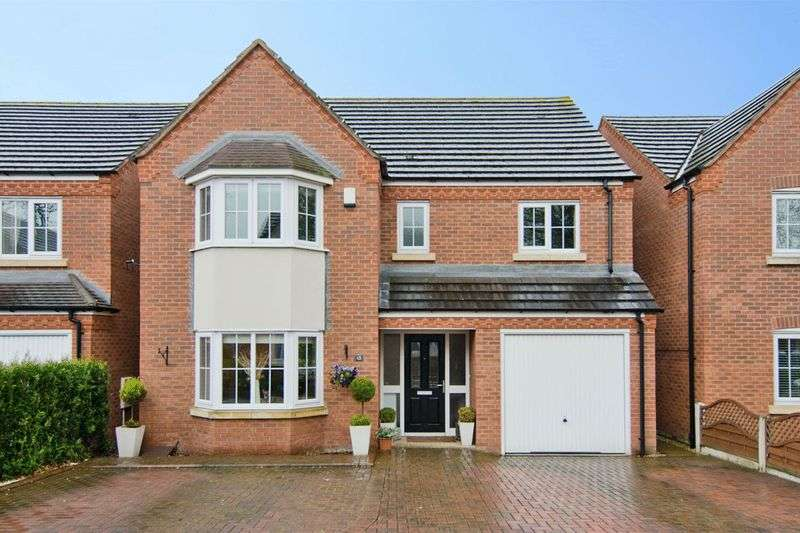 4 Bedrooms Detached House for sale in Eaton Croft, Rugeley