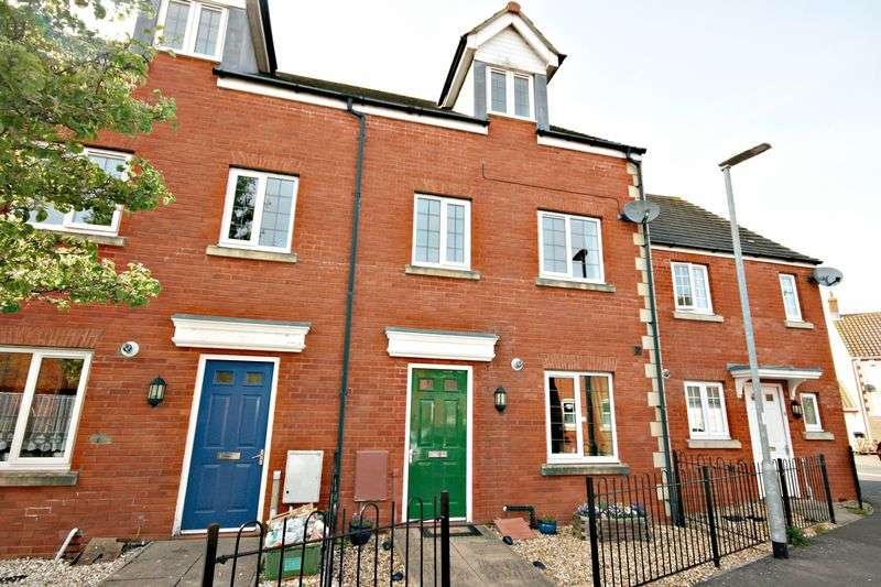 3 Bedrooms Terraced House for sale in Bowline Close, Bridgwater