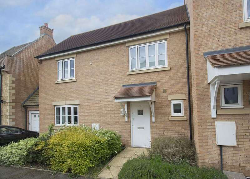 3 Bedrooms Terraced House for sale in Kesteven Way, Little Stanion, Northamptonshire