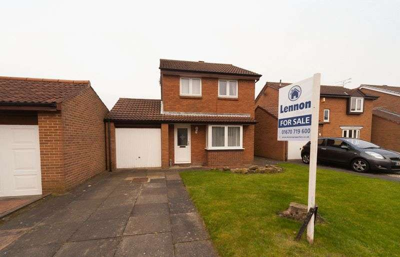 3 Bedrooms Detached House for sale in Downe Close, Blyth