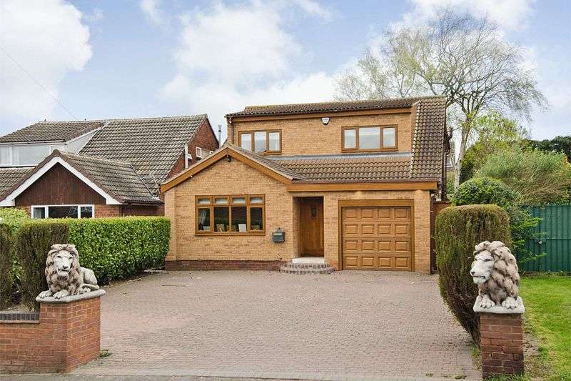 4 Bedrooms Detached House for sale in Hospital Road, Burntwood