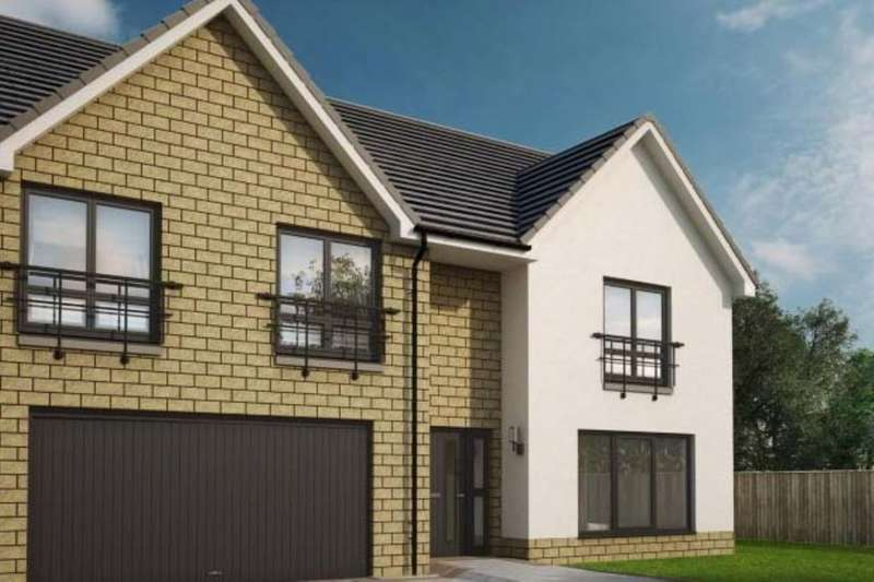 5 Bedrooms Detached House for sale in The Sienna Fair Acres, Dunbar, EH42