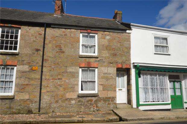 2 Bedrooms Terraced House for sale in Church Street, Helston, Cornwall