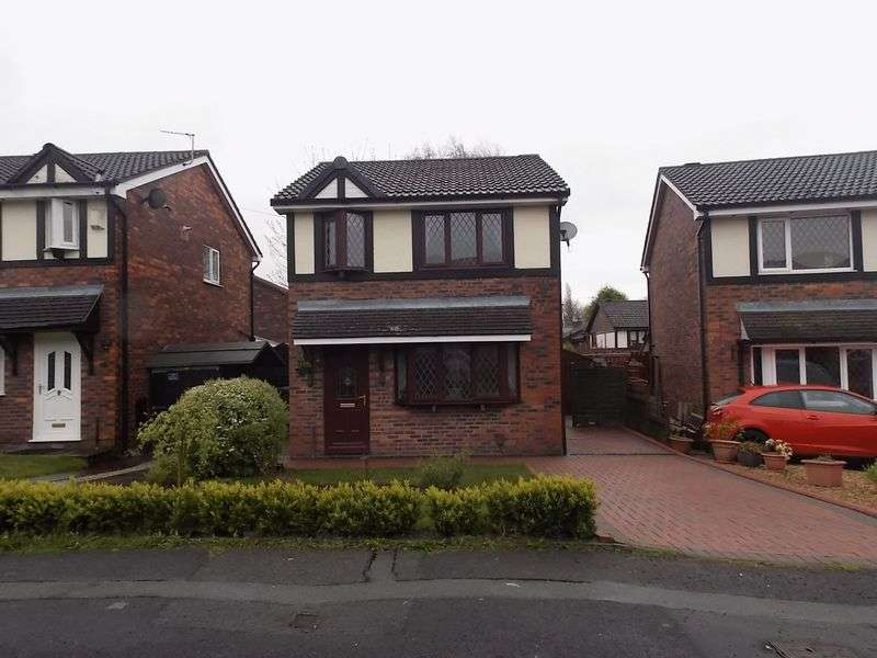 3 Bedrooms Detached House for sale in Old Vicarage, Westhoughton