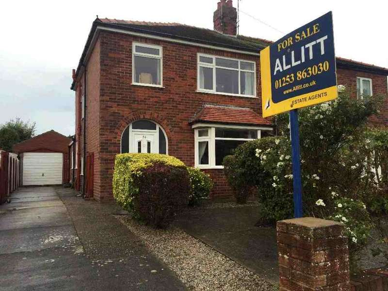 3 Bedrooms Property for sale in 54, Thornton-Cleveleys, FY5 2SG