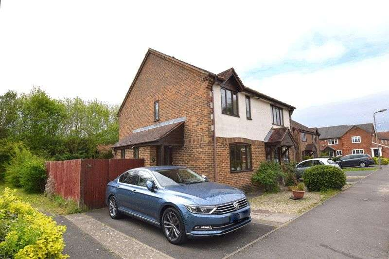 2 Bedrooms Semi Detached House for sale in Sorrell Drive, Newport Pagnell, Milton Keynes
