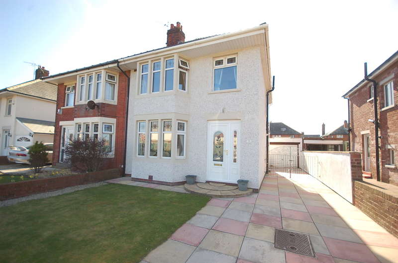3 Bedrooms Semi Detached House for sale in Raleigh Avenue, Blackpool