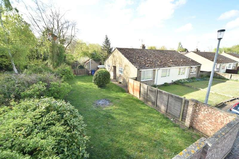 2 Bedrooms Semi Detached Bungalow for sale in All Saints Walk, Worlington, Bury St. Edmunds