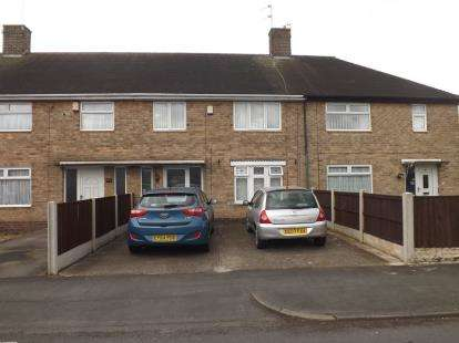 3 Bedrooms Terraced House for sale in Listowel Crescent, Clifton, Nottingham