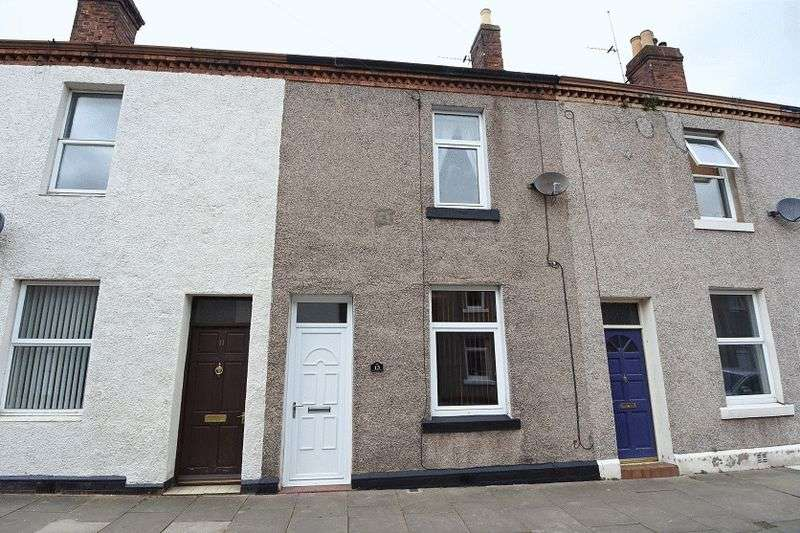 2 Bedrooms Terraced House for sale in Lindisfarne Street, Carlisle