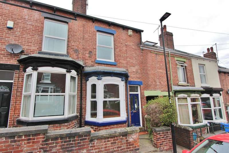 3 Bedrooms Terraced House for sale in Penrhyn Road, Hunters Bar, Sheffield, S11 8UN