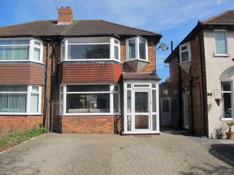 2 Bedrooms Semi Detached House for sale in Cranes Park Road, Birmingham