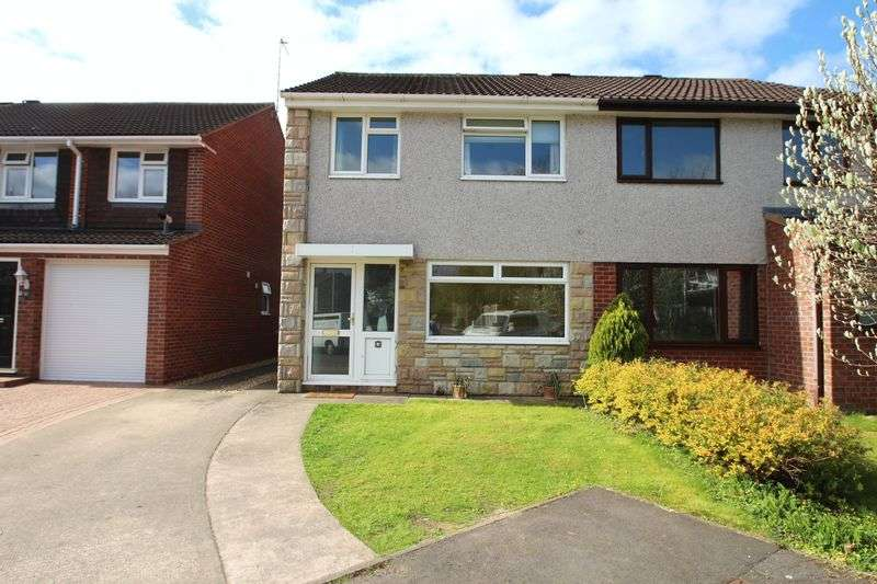 3 Bedrooms Semi Detached House for sale in Capel Close Warmley Bristol