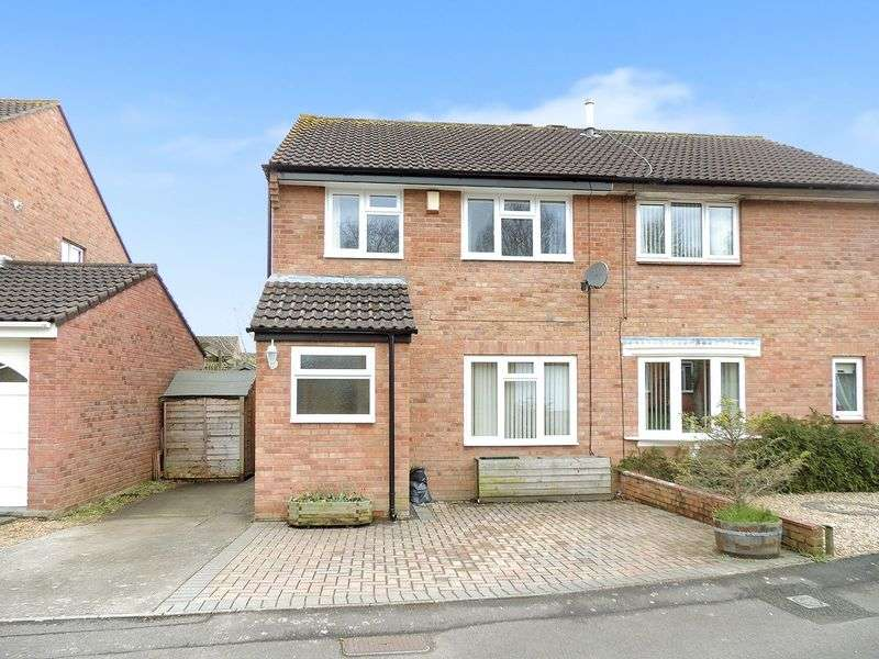 3 Bedrooms Semi Detached House for sale in Bakersfield, Longwell Green, Bristol