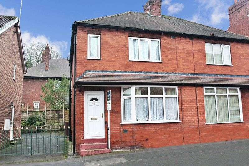 2 Bedrooms Semi Detached House for sale in St Bernards Avenue, Pontefract