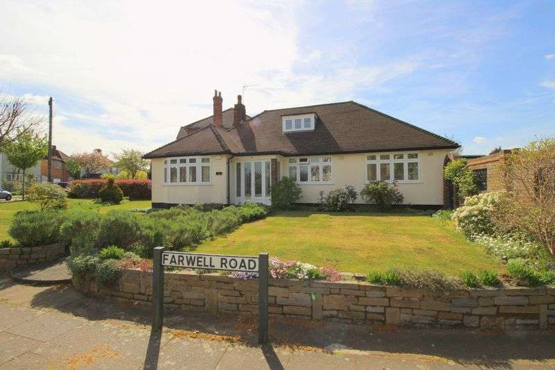 3 Bedrooms Detached Bungalow for sale in Farwell Road, Sidcup, DA14 4LG