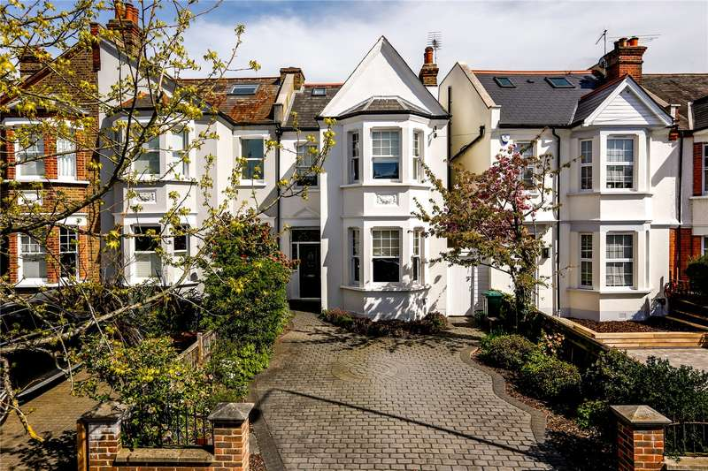4 Bedrooms Semi Detached House for sale in Lambton Road, London, SW20