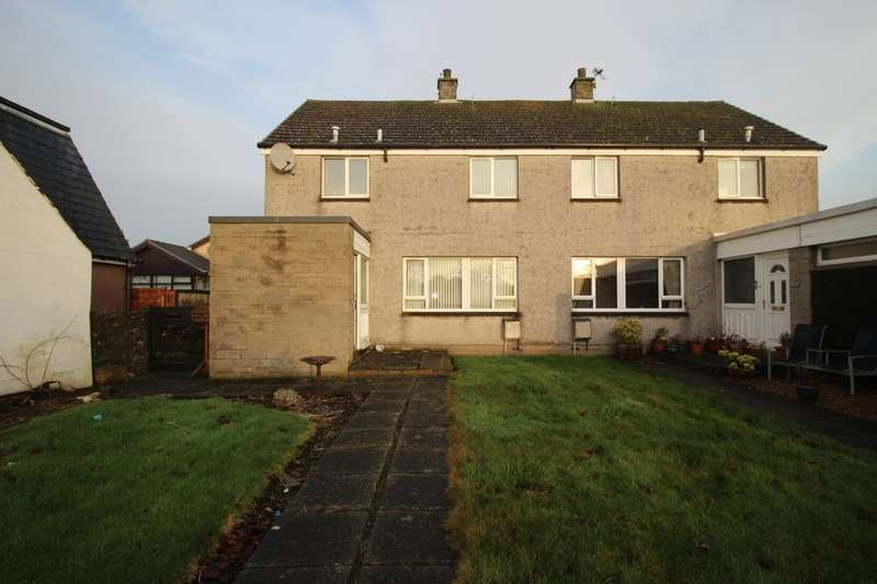 3 Bedrooms Semi Detached House for sale in Gardyne Street, Friockheim, Arbroath, DD11