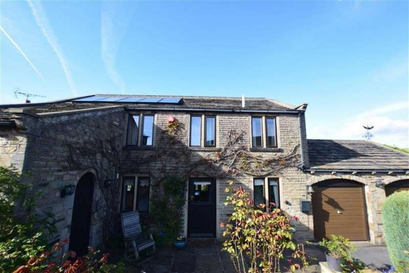 4 Bedrooms Detached House for sale in Bank End Knoll, Off Thurstonland Bank, Brockholes, Holmfirth, HD9